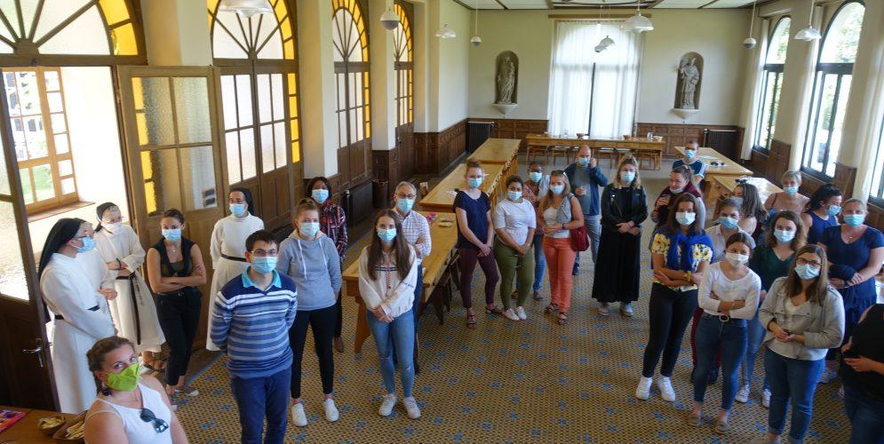 Les élèves de l'IFAS en visite