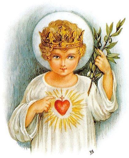 L'Enfant Jésus Roi d'Amour