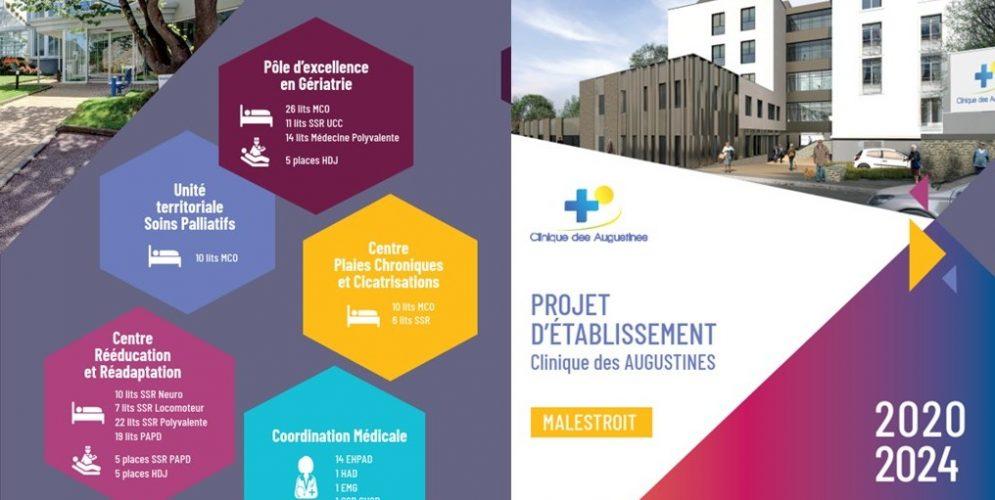 Nouveau projet d'établissement de la Clinique des Augustines