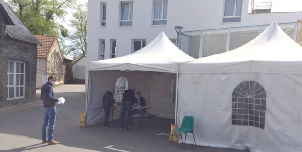 Un centre de vaccinations éphémère dans les locaux de la clinique